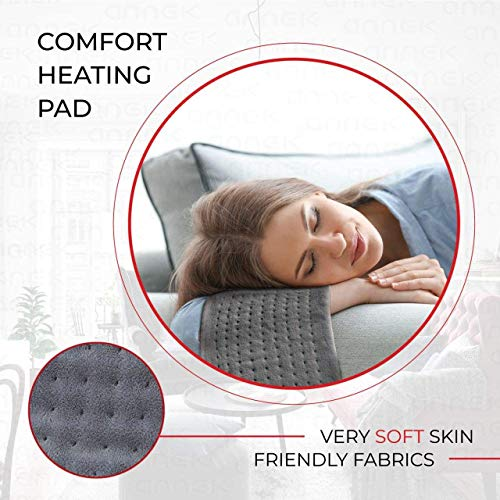 ANEGAL Electric Heating Pad (Gray)