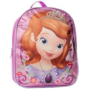 51ue4xnH1HL. SS300  - Disney Little Princess Sofia - Mochila de satén para niña