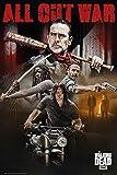 The Walking Dead Póster Colaje [8va. Temporada] (61cm x 91,5cm) + 1 Póster con Motivo de Paraiso Playero