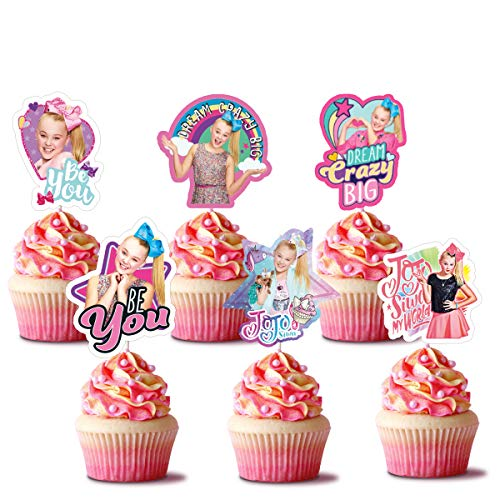 JoJo Siwa Cupcake Toppers (Pack of 24)