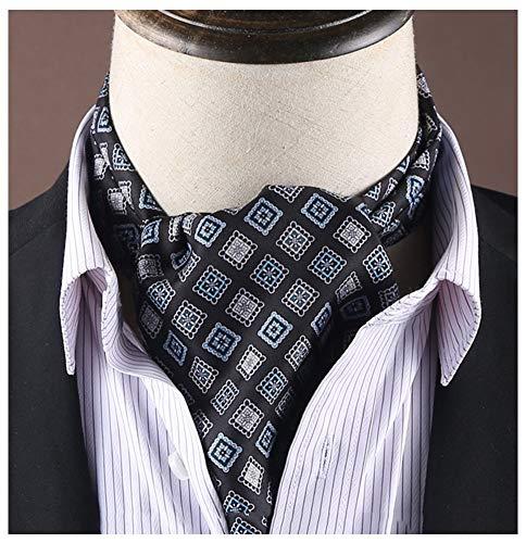QIANCHENG Herren Krawattenschal Hemdschal Beidseitiger Druck Kragentuch Business-Halstücher (Color : #5)