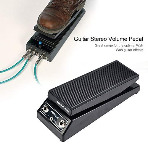 Naroote Pedal Wah, DF2210 Pedal Wah-Wah clásico Pedal de Efecto de Guitarra Wah