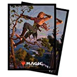 Kaldheim 100ct Sleeves Featuring Tyvar Kell for Magic: The Gathering