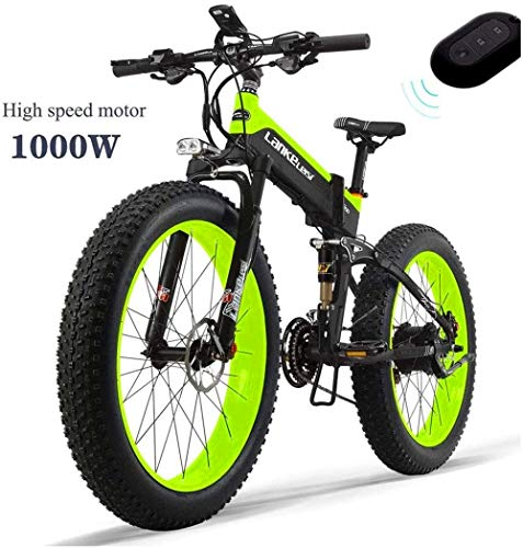 Electric Bike Electric Mountain Bike, All-round Electric Bike 48V 14.5AH 1000W Engine 26 '' 4.0 Wholesale Tire Bicycle 27-speed Snow Mountain E-bike Adult Female/male With Anti-theft Device for the ju