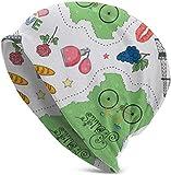 Whecom Strickmützen, France Tour Color with Map Valentine Funny Upgrade Hip- Adult Knit Beanie Warm Knit Ski Skull Cap Beanie Mütze One Size für Damen und Herren