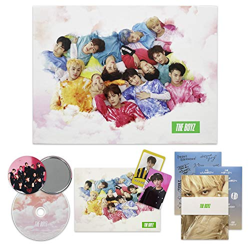 THE BOYZ 2nd Mini Album - THE START [ SET ver. ] CD + Booklet + Post Card + Photo Cards + Sticker + F.G