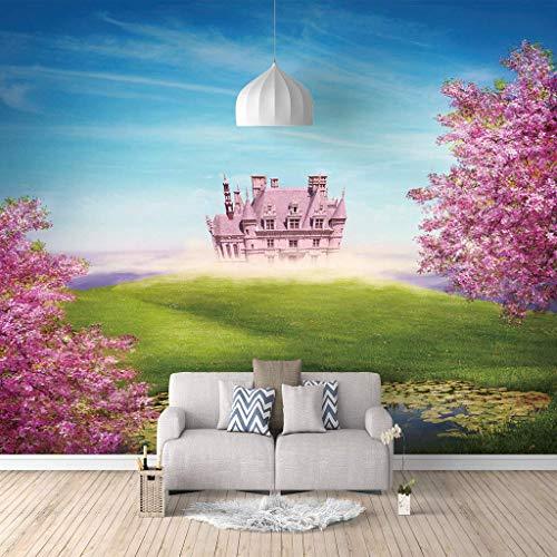 Hermosos Mural de pared 300(Ancho) X210(Alto) Cm 3D Papel Pintado fotos Mundo de cuento de hadas Sala de estar dormitorio decoración del hogar póster Fotomurales