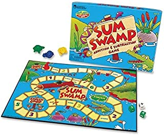 Learning Resources - Sum Swamp Addition & Subtraction Game, Ages 4and Up