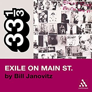 The Rolling Stones' Exile on Main St. (33 1/3 Series)  cover art
