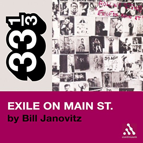 The Rolling Stones' Exile on Main St. (33 1/3 Series)  audiobook cover art