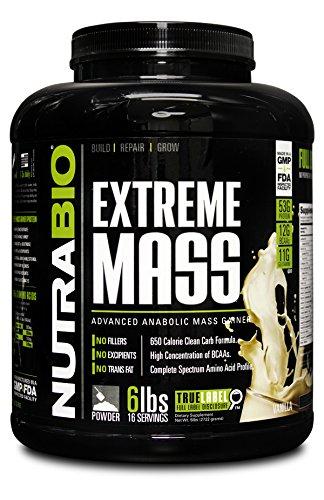 NutraBio Extreme Mass Weight Gainer