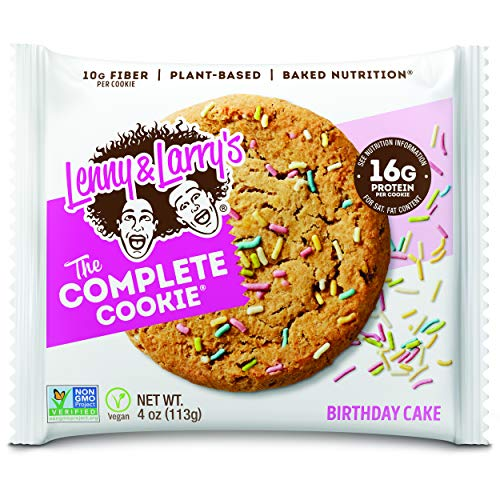Lenny & Larry's Complete Cookie - Birthday Cake 12 Cookies Protein