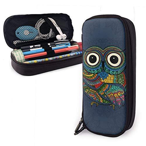 Cute Owl Pencil Case Big Capacity Pen Pencil Marker Holder Stationery Organizer Pencil Bag Pouch Pen Case with