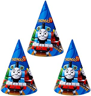 Riethmuller Thomas and Friends Party Hats 6 Pieces - 250130, Blue