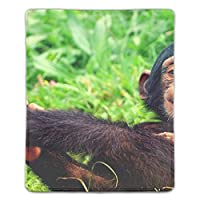 マウスパッド 防水 耐久性が良い 滑り止めゴム底 滑りやすい表面 マウスの精密度を上がる チンパンジー