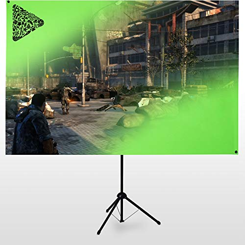 eSmart Germany X-Type Ultralightweight Greenscreen 200 x 112 cm | 90' | mobiler...