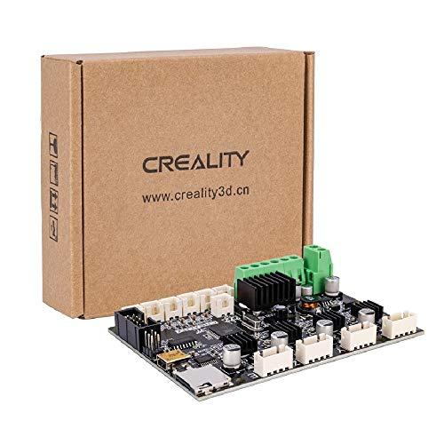 Placa base de impresora 3D Creality - Placa base ultra silenciosa de 24 V V4.2.7 con controlador TMC2225 para Ender-3 / Ender-3 Pro