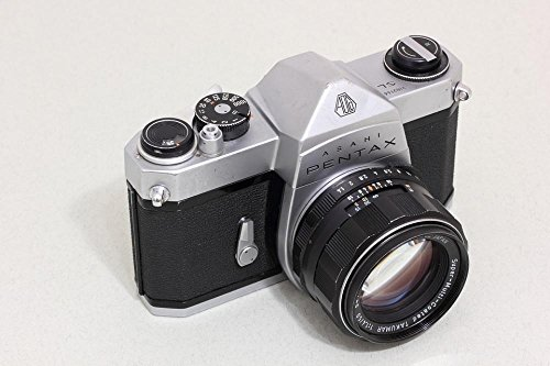 Gifts Delight Laminated 36x24 inches Poster: Asahi Pentax Optical Japan SLR 35Mm Film Camera Takumar Lens Reflex Body Photo Equipment Camera Photography Spotmatic Spotmatic Sl Chrome Analog Camera
