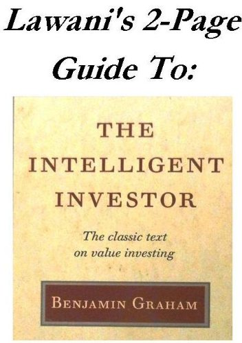 Lawani's 2-Page Guide to Benjamin Graham's 'The Intelligent Investor' (Lawani's 2-Page Guides Book 1) (English Edition)