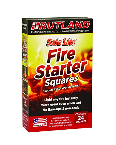 Best rutland fire starter squares