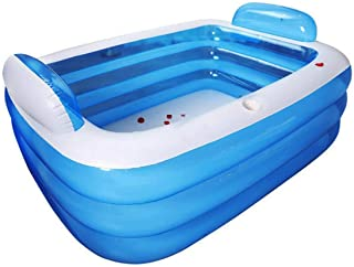 TrendClub100® Piscina hinchable de PVC para niños y adultos, piscina de exterior, piscina de pie, óptima para jardín, terr...