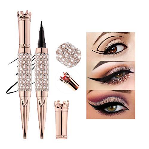 Mimore Penna per eyeliner Impermeabile Nero Eyeliner Liquido Eyeliner Penna eyeliner micro di precisione Asciugatura r