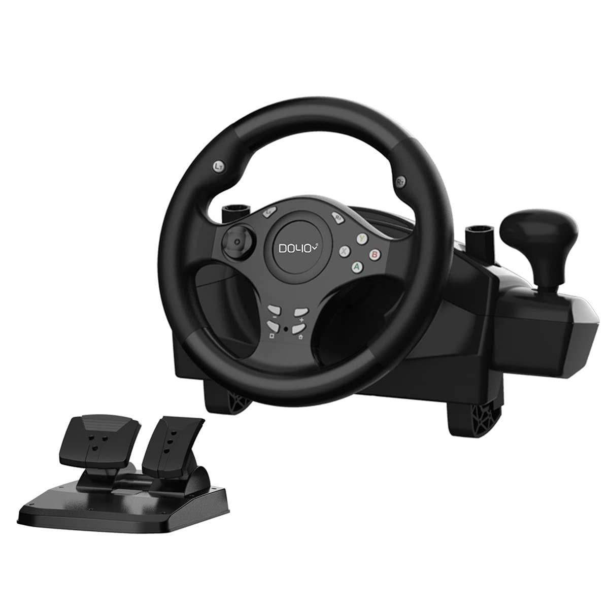 DOYO shop Gaming Racing Wheel 270 Degree Driving Max 59% OFF Steering Force