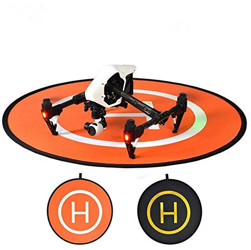 MuLong PGYTECH 110cm Landing Pad Launch Pad HomeBase RC Drone Quadcopter Helicopter Fast-fold helipad Dronepad for DJI Mavic Pro Inspire2 Phantom 4 Phantom 3 2 1 Inspire1 protective Accessories