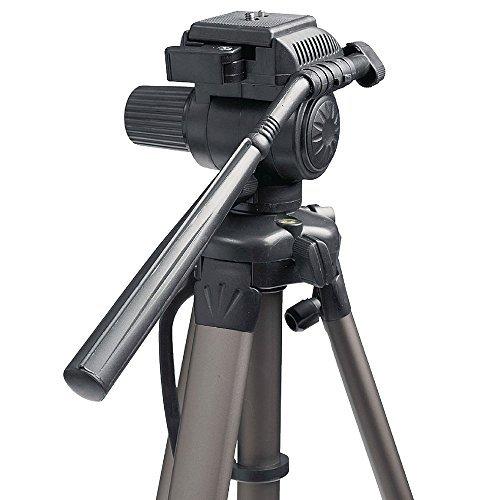 Trípode de Aluminio Profesional, 170cm, para Laser, líneas láser y nivel de línea, trípode Manivela de nivelación, 65–170cm, para Topografía, giratorio, dispositivo de grabación con zapata rápida de 1/4pulgadas, Adecuado para Makita SK102Z SKR200Z Bosch Quigo PLL360PCL 20Professional GPL5GLL2–15Dewalt DW088K DW089K