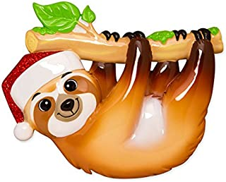 Best personalized sloth ornament Reviews