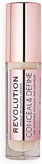 Makeup Revolution Conceal and Define Concealer, C3 Beige, 3.4ml