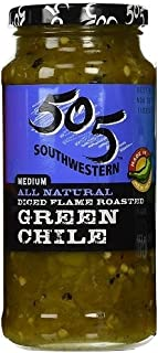 505 Southwestern 16oz Jar (Select Flavor Below) (Diced Flame Roasted Green Chile –..