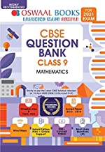 Oswaal CBSE Question Bank Class 9 Mathematics Book Chapterwise & Topicwise Includes Objective Types & MCQ's (For 2021 Exam)