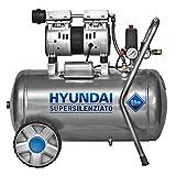 COMPRESSORE OIL-FREE SILENZIATO 50LT HYUNDAI KWU750-50L