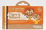Namaki K3TR14 - Kit de maquillaje para disfraz, para niños, unisex, color naranja, blanco y negro