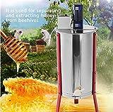 QIMEI Extracteur de Miel en Acier Inoxydable Spinner Bee 2/3 Friteuse électrique à...