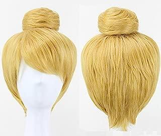 blonde bun wig