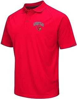 Mens NCAA Louisville Cardinals Polo Shirt (Team Color)