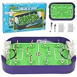 ZLSD Mesa De Futbolín De Mesa, Mini Juego De Mesa De Defensa De Tiro De Campo De Fútbol, Partido Deportivo De Fútbol para Adultos Y Niños