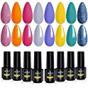 ab gel Nude Series Uv Led Soak Off Gel Nail Polish Set