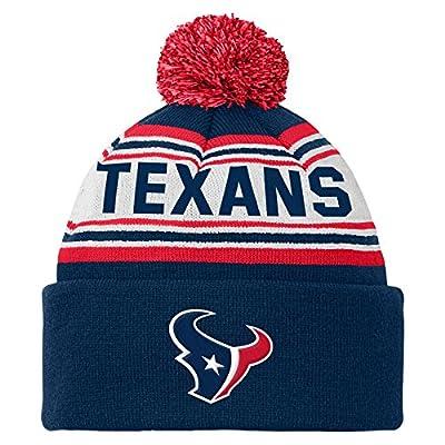 NFL Teen-Boys NFL Kids & Youth Boys Cuffed Knit with Pom Hat