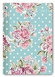 Buchkalender Roses 2017 - Bürokalender A5 Motiv - 1 Tag 1 Seite - 352 Seiten