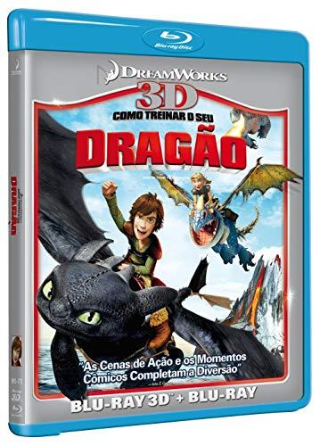 Blu-Ray - Como Treinar o seu Dragão: Blu-ray 3D + Blu-ray