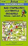 Bad Staffelstein - Lichtenfels - Ebensfeld: Michelau, Zapfendorf (Fritsch Wanderkarten 1:35000)