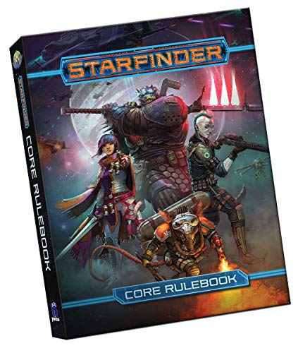 Starfinder Rpg: Starfinder Core Rulebook Pocket Edition