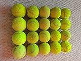 20 PELOTAS DE TENIS EN MUY BUENAS CONDICIONES. WILSON, HEAD, BABOLAT, SLAZENGER Para jugar al tennis, niños, perros,...