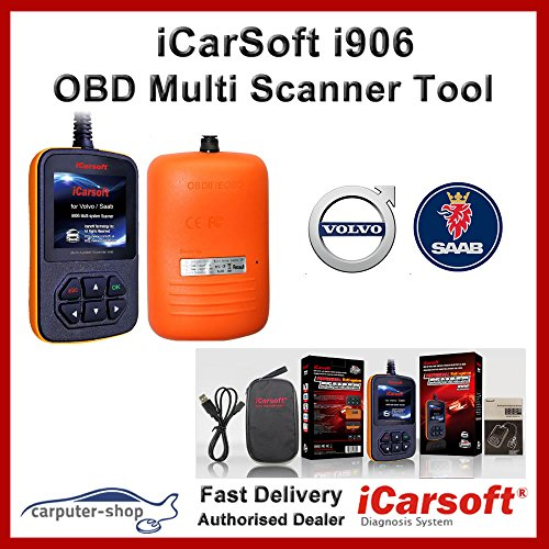 iCarsoft i906 Multi-Systeme Scanner für Volvo/Saab OBD Diagnose