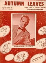 Best les feuilles mortes piano sheet music Reviews