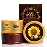 WOW Skin Science Hair Mask for Dry & Damaged Hair - No Parabens