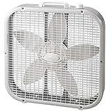 Lasko Air Circulating 20 INCH Box Fan, White